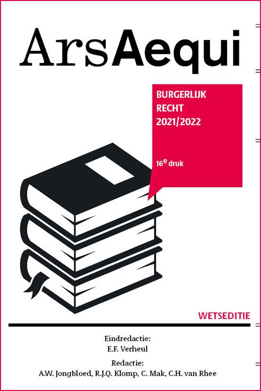 Burgerlijk recht 2021-2022
