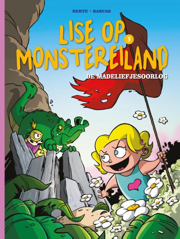 Lise op Monstereiland 03, De Madeliefjesoorlog