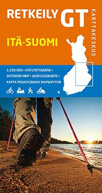 Itä-Suomi (Finland Oost) bIKE MAP