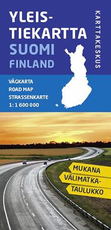 Finland Suomi Road map