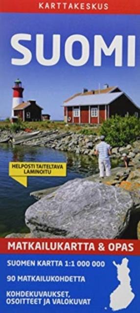 Finland Tourist Map + Guide 1/1M