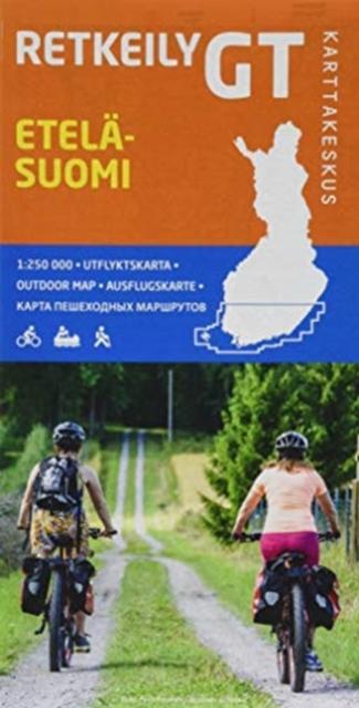 Etelä-Suomi (Finland Zuid) Bike map