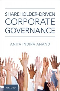 Shareholder-driven Corporate Governance