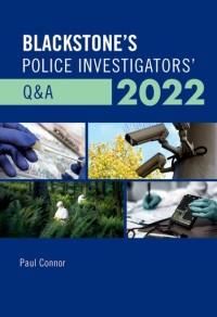 Blackstone's Police Investigators' Q&A 2022