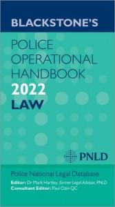 Blackstones Police Operational Handbook 2022