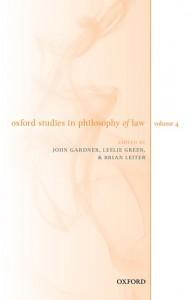 Oxford Studies in Philosophy of Law Volume 4