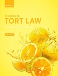 Casebook on Tort Law