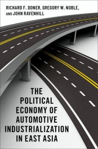 The Political Economy of Automotive Industrialization in East Asia