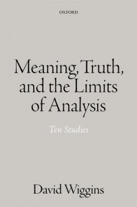 Language, Meaning, Truth, and the Limit of Analysis