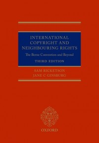 International Copyright and Neighbouring Rights