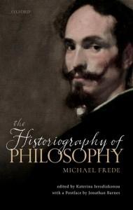 The Historiography of Philosophy