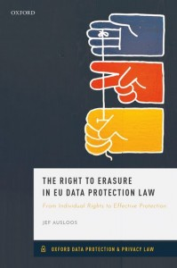 The Right to Erasure in EU Data Protection Law
