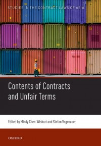 The Contents of Contracts and Unfair Terms