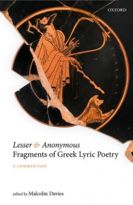 Lesser and Anonymous Fragments of Greek Lyric Poetry