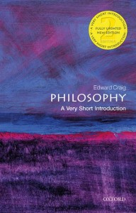 Philosophy: A Very Short Introduction
