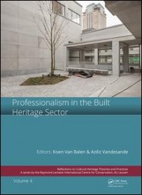 Professionalism in the Built Heritage Sector