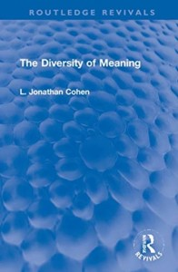 The Diversity of Meaning