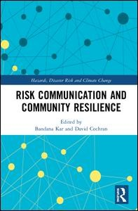 Risk Communication and Community Resilience
