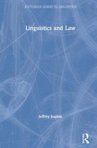 Linguistics and Law