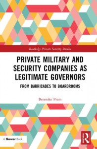 Private Military and Security Companies as Legitimate Governors