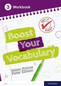 Get It Right: Boost Your Vocabulary Workbook 3 (Pack of 15)
