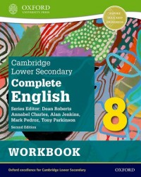 Cambridge Lower Secondary Complete English 8: Workbook (Second Edition)