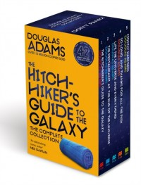 Hitchhiker's guide to the galaxy boxset 42nd anniversary edition