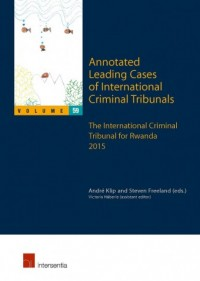 Annotated Leading Cases of International Criminal Tribunals - Volume 59
