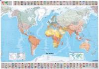 Wereldkaart Michelin met vlaggen