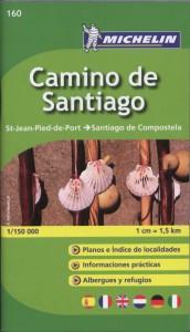 Michelin Localkarte Camino de Santiago 1 : 150 000