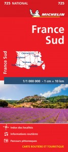 Michelin 725 Frankrijk-Zuid