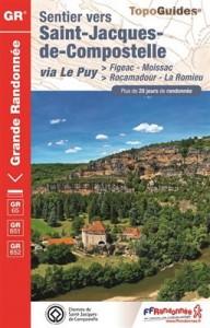Sentier Saint-Jacques-de-Compostelle - Figeac-Moissac GR65/651/652