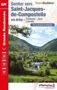 Sentier Saint-Jacques-de-Comp. Via Arles- Toulouse-Jaca GR653/101/78
