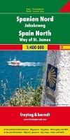 Spanien - Jakobsweg, Autokarte 1:400.000