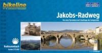 bikeline Radtourenbuch Jakobs-Radweg 1 : 75 000