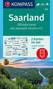 Saarland 1:50 000 Offizielle Karte des Saarwald-Vereins e.V.