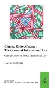 Chance, Order, Change: