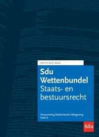 Sdu Wettenbundel 2021-2022 (set a 3 delen)