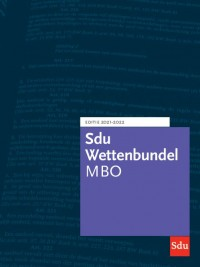 Sdu Wettenbundel MBO