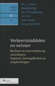 Asser 8-II Verkeersmiddelen en vervoer - Rechten en voorrechten op zeeschepen. Kapitein, bevoegdheden en verplichtingen
