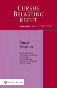 Studenteneditie Cursus Belastingrecht Omzetbelasting 2016-2017