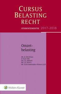 Studenteneditie Cursus Belastingrecht Omzetbelasting 2017-2018