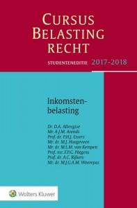 Studenteneditie Cursus Belastingrecht Inkomstenbelasting 2017-2018