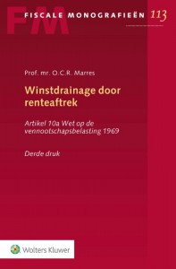 Winstdrainage door renteaftrek door O.C.R. Marres