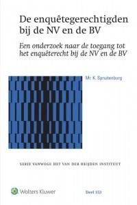 De enquêtegerechtigden bij de NV en de BV