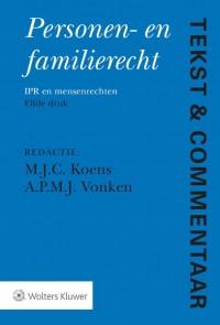 Tekst & Commentaar Personen- en Familierecht