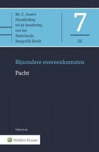 Asser 7-III Bijzondere overeenkomsten - Pacht