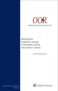 Managing banking crises in Europe after the great crisis