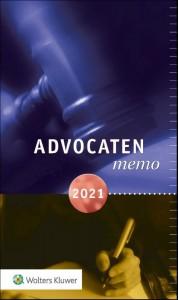 Advocatenmemo 2021