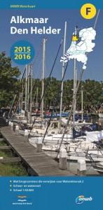 ANWB waterkaart: F : Alkmaar- Den Helder 2015-2016